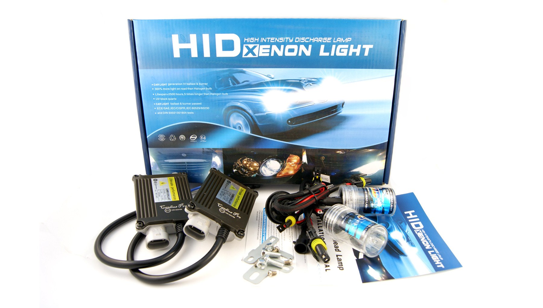 Zestaw HID Xenon CanBus Pro H3 6000K - GRUBYGARAGE - Sklep Tuningowy